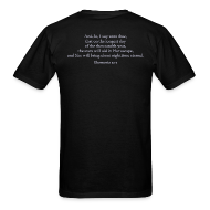 T-Shirts ~ Men's T-Shirt ~ scripture (front & back)