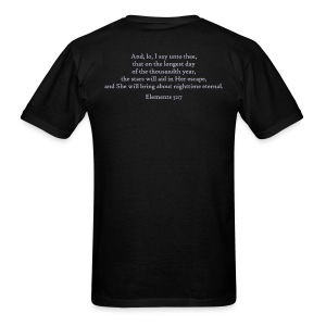 scripture (front & back) - Men's T-Shirt