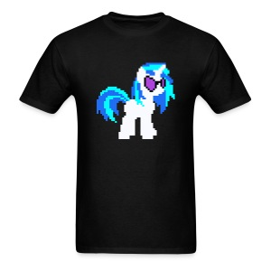 DJ PON-3 pixel single plain - Men's T-Shirt