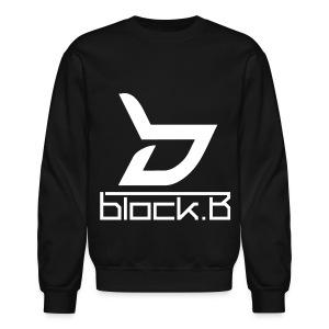 Block B - Logo - Crewneck Sweatshirt