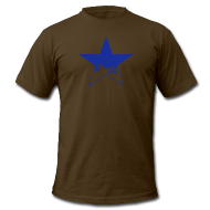 T-Shirts ~ Men's T-Shirt by American Apparel ~ Newcastle T-Shirt: Star