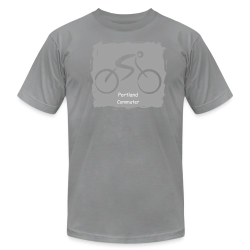 Portland Commuter - Men's Fine Jersey T-Shirt
