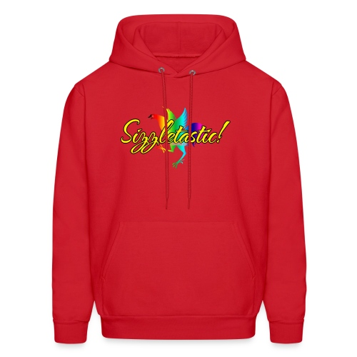 Lily's Sizzling Men's Hoodie (Sizzletastic) Official.  - Men's Hoodie