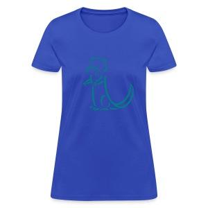 t-shirt otter beaver sea otter fish lake fishing river animal t-shirt - Women's T-Shirt