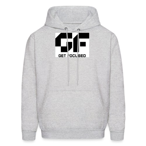 GET FOCUSED MEN'S HOODED SWEATSHIRT  - Men's Hoodie