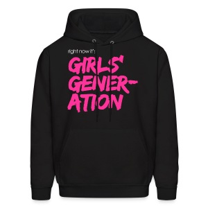 Girls' Generation - Right now it's GG - Men's Hoodie