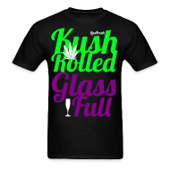 T-Shirts ~ Men's T-Shirt ~ Kush Rolled Glass Full