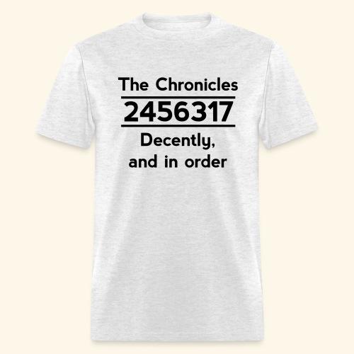 Original Reading Order - Men's T-Shirt