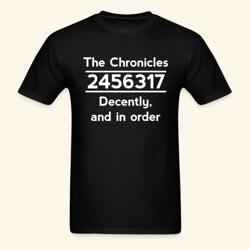 Original Reading Order - Men's T-Shirt