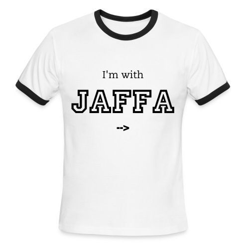 I'm With Jaffa - Men's Ringer T-Shirt