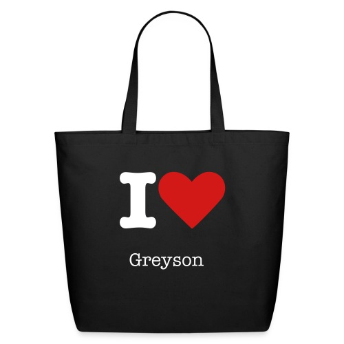 I love Greyson Tot - Eco-Friendly Cotton Tote
