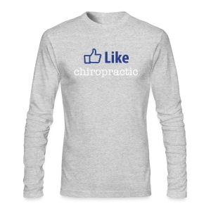 LIKE chiropractic - Long Sleeve T - Men's Long Sleeve T-Shirt by Next Level
