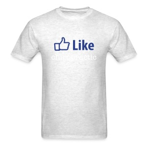 LIKE chiropractic T-shirt - Men's T-Shirt