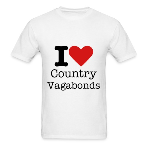 I heart vagabonds shirt - Men's T-Shirt