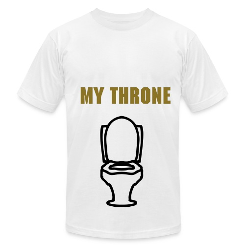 My Throne (Credits to my Auntie) - Men's  Jersey T-Shirt
