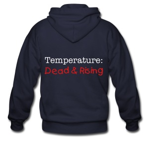 Temperature Series T-shirt - Men's Zip Hoodie