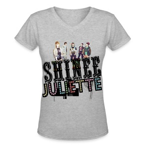 [SHINee] Juliette in Japan - Women's V-Neck T-Shirt