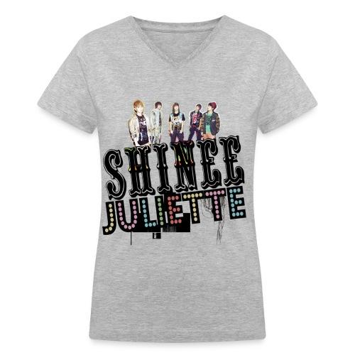 [SHINee] Juliette in Japan - Women's V-Neck T-Shirt