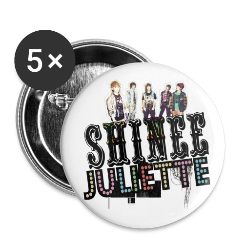 [SHINee] Juliette in Japan - Small Buttons