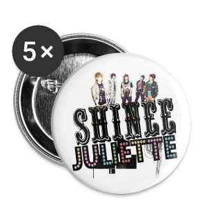 [SHINee] Juliette in Japan - Large Buttons