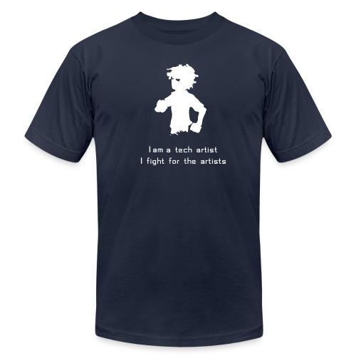 I am a Tech Artist AA Tee (any color) - Men's Fine Jersey T-Shirt