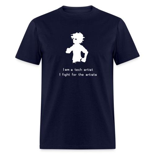 I am a Tech Artist Standard Weight Tee (any color) - Men's T-Shirt