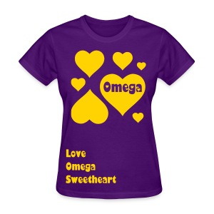 Lots of Love Omega Sweet - Women's T-Shirt