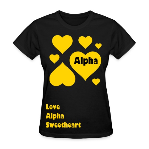 Lots of Love Alpha Sweet - Women's T-Shirt