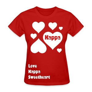 Lots of Love Kappa Sweet - Women's T-Shirt