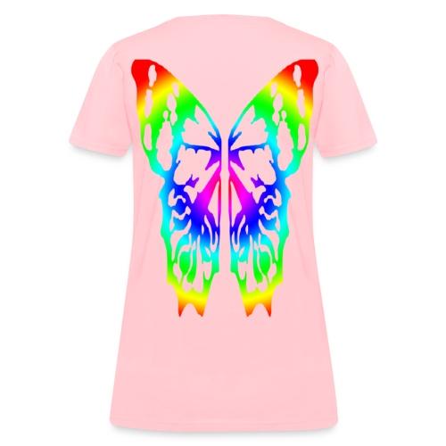 butterfly women - Women's T-Shirt