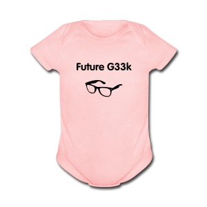 Future G33k - Short Sleeve Baby Bodysuit