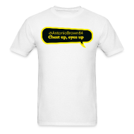 T-Shirts ~ Men's T-Shirt ~ Chest up, eyes up
