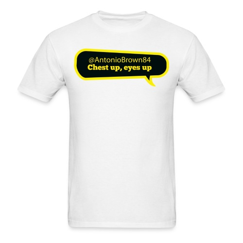 Chest up, eyes up - Men's T-Shirt