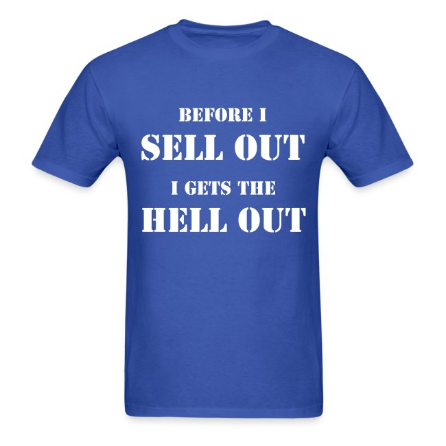 NO SELL OUT