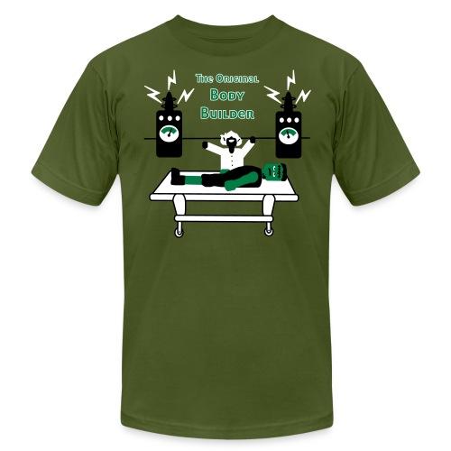 Dr. Frankenstein - The Original Body Builder - Men's T-Shirt - Men's Fine Jersey T-Shirt
