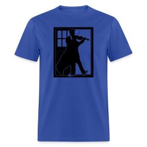 The Fiddling Doctor Black Version - Men's T-Shirt