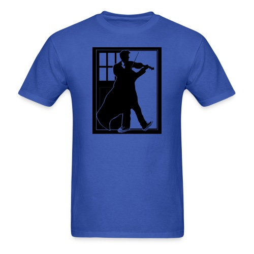 The Fiddling Doctor Black Version - Men's T-Shirt