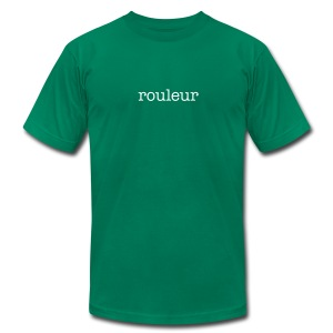 Rouleur - Men's T-Shirt by American Apparel