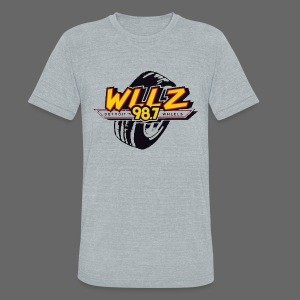 WLLZ 98.7 - Unisex Tri-Blend T-Shirt by American Apparel