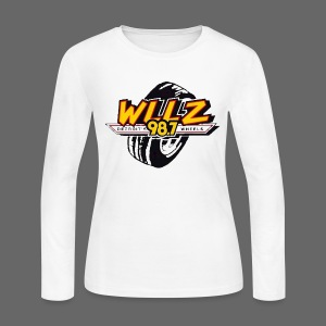 WLLZ 98.7 - Women's Long Sleeve Jersey T-Shirt