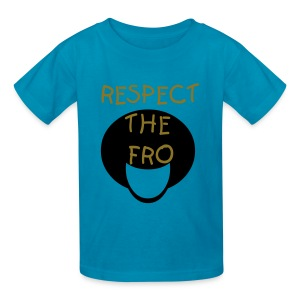 Respect the Fro - Kids' T-Shirt
