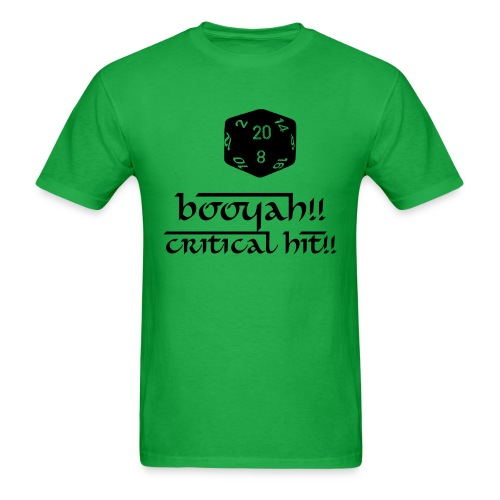 Critical Hit - Men's T-Shirt