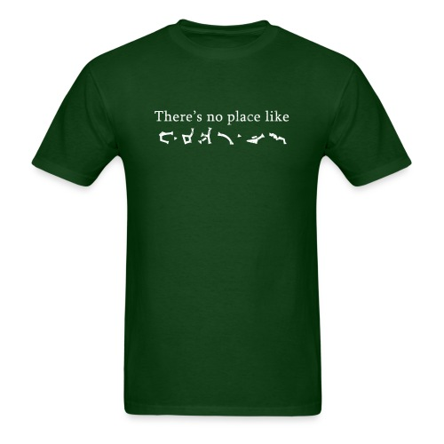 Stargate Earth Gate Address | Robot Plunger - Men's T-Shirt
