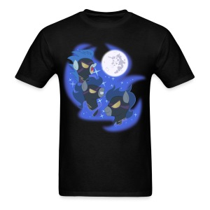 Three Shadowbolt Moon by Rankao - Men's T-Shirt