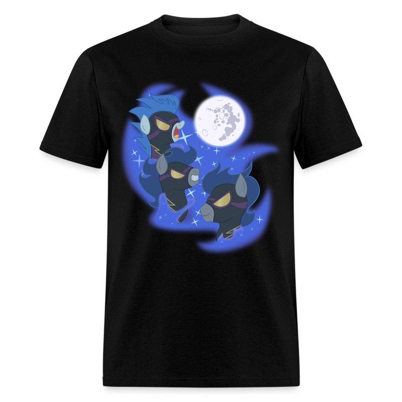 Three Shadowbolt Moon by Rankao - Men's T-Shirt