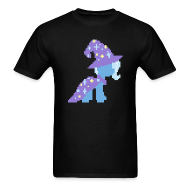 T-Shirts ~ Men's T-Shirt ~ Trixie pixel plain