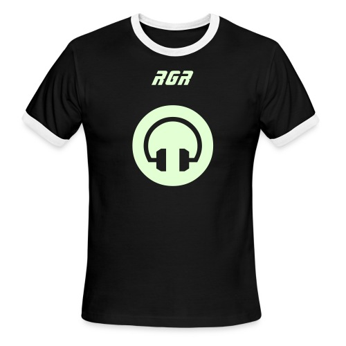 new glow in the dark RGR shirt - Men's Ringer T-Shirt