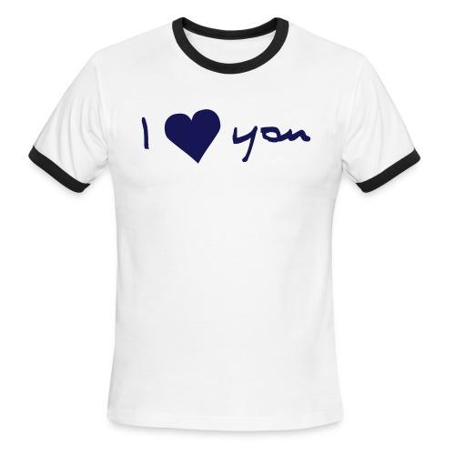 I love you - Men's Ringer T-Shirt