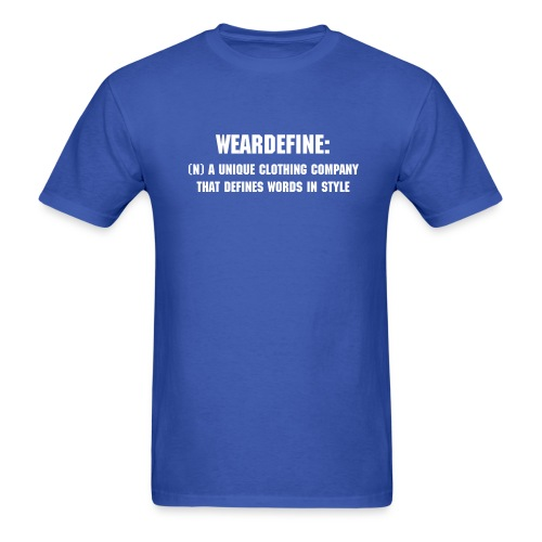 WearDefine: - Men's T-Shirt