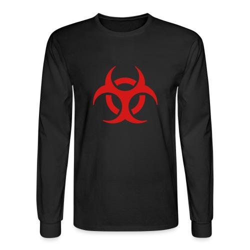 LDX Biohazard T - Men's Long Sleeve T-Shirt